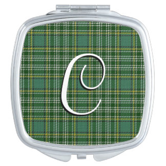 Scottish Beauty Clan Currie Tartan Plaid Mirror For Makeup