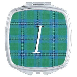 Scottish Beauty Clan Irvine Irwin Tartan Plaid Mirrors For Makeup