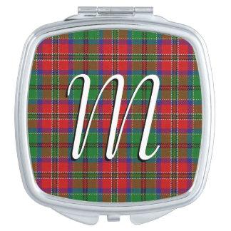 Scottish Beauty Clan MacCulloch Tartan Plaid Compact Mirrors