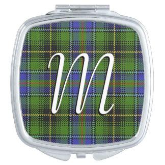 Scottish Beauty Clan MacInnes Tartan Plaid Vanity Mirror