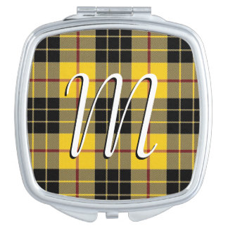 Scottish Beauty Clan MacLeod of Lewis Tartan Plaid Travel Mirror