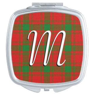 Scottish Beauty Clan MacQuarrie Tartan Plaid Vanity Mirror