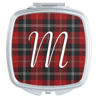 Scottish Beauty Clan Marjoribanks Tartan Plaid Makeup Mirrors