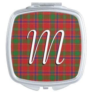 Scottish Beauty Clan Munro Tartan Plaid Compact Mirrors