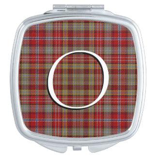Scottish Beauty Clan Ogilvie Ogilvy Tartan Plaid Vanity Mirror