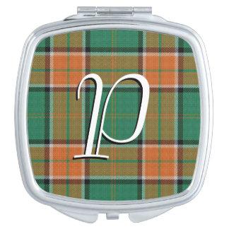 Scottish Beauty Clan Pollock Tartan Plaid Vanity Mirrors