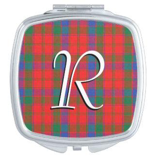 Scottish Beauty Clan Robertson Tartan Plaid Compact Mirrors