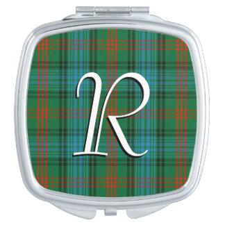 Scottish Beauty Clan Ross Tartan Plaid Vanity Mirrors