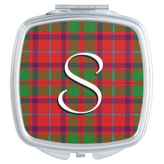 Scottish Beauty Clan Shaw Tartan Plaid Travel Mirrors