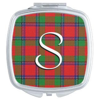 Scottish Beauty Clan Sinclair Tartan Plaid Mirrors For Makeup