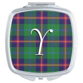 Scottish Beauty Clan Young Tartan Plaid Compact Mirrors