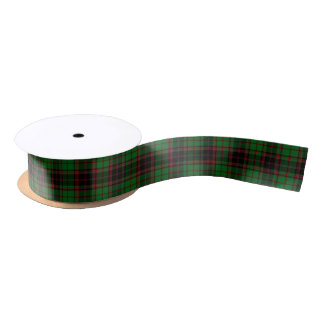Scottish Buchan Plaid Tartan Satin Ribbon
