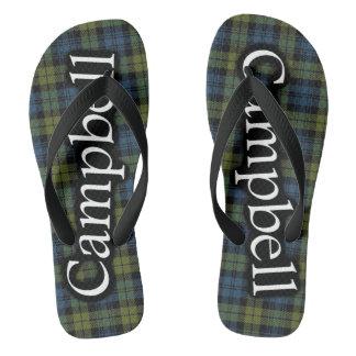 Scottish Campbell Tartan Flop Flops Flip Flops