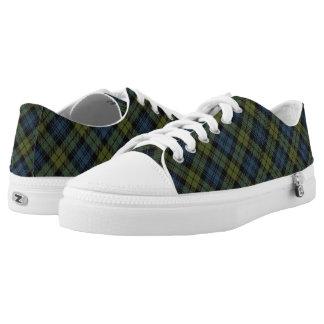 Scottish Campbell Tartan Low-Top Sneakers