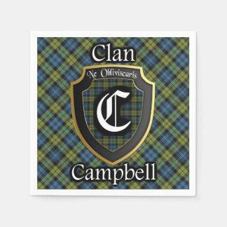 Scottish Campbell Tartan Napkin Paper Napkins