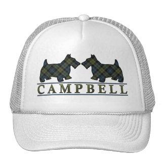 Scottish Campbell Tartan Scottie Dogs Trucker Hat