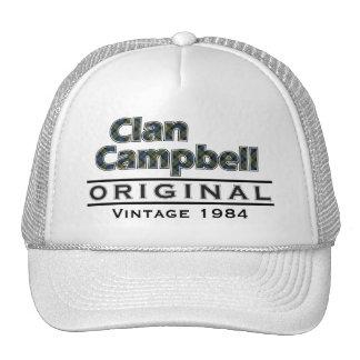 Scottish Campbell Vintage Customize Your Birthyear Trucker Hat