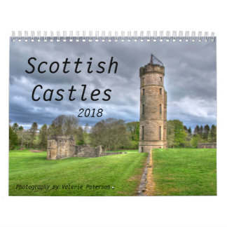 Scottish Castles 2018 Calendar