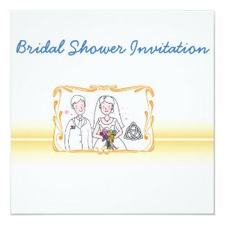 Scottish, Celtic Wedding Theme Bridal Shower Card