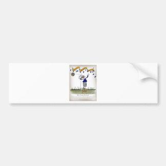 scottish centre forward footballer bumper sticker