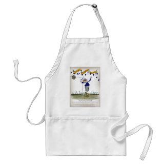 scottish centre forward footballer standard apron