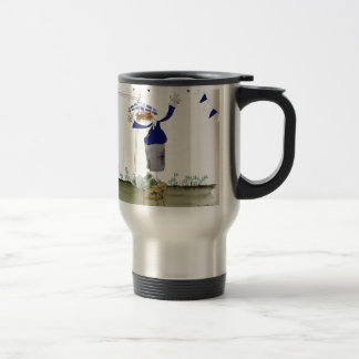 scottish centre forward footballer travel mug