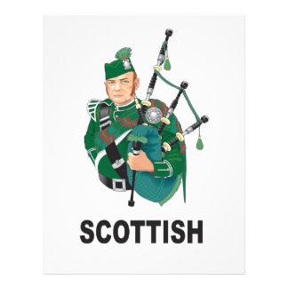 scottish chap letterhead design