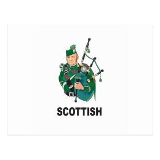 scottish chap postcard