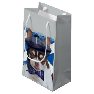 Scottish Chihuahua dog gift bag