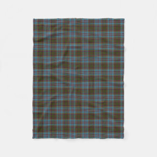 Scottish Clan Anderson Classic Tartan Fleece Blanket