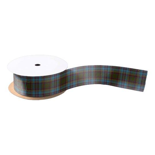 Scottish Clan Anderson Classic Tartan Satin Ribbon