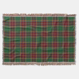 Scottish Clan Baxter Tartan Throw Blanket