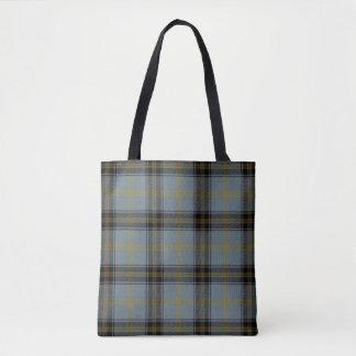 Scottish Clan Bell of the Borders Tartan Plaid Tote Bag