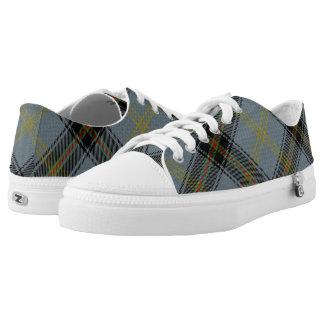 Scottish Clan Bell Tartan Low-Top Sneakers