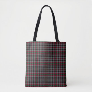 Scottish Clan Borthwick Tartan Plaid Tote Bag