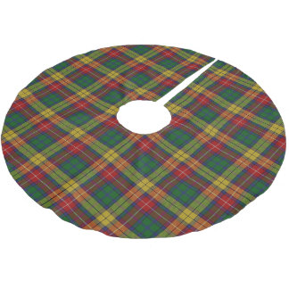 Scottish Clan Buchanan Tartan Brushed Polyester Tree Skirt