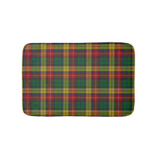 Scottish Clan Buchanan Tartan Plaid Bath Mat