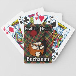 Scottish Clan Buchanan Tartan Card Decks