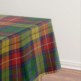 Scottish Clan Buchanan Tartan Tablecloth