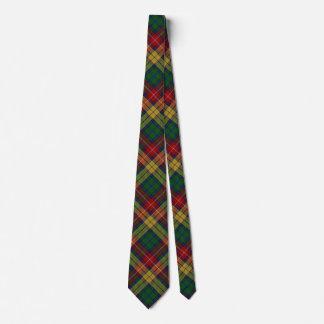 Scottish Clan Buchanan Tartan Tie