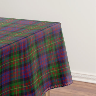 Scottish Clan Carnegie Tartan Tablecloth