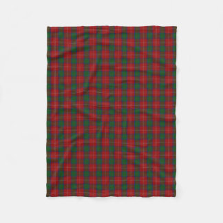 Scottish Clan Chisholm Classic Tartan Fleece Blanket