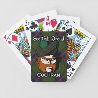 Scottish Clan Cochran Tartan Deck Poker Cards