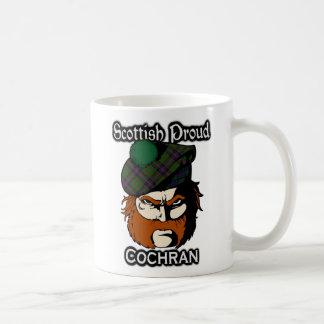 Scottish Clan Cochran Tartan Scottish Basic White Mug