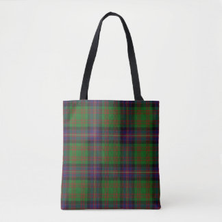Scottish Clan Cochrane Cochran Tartan Plaid Tote Bag