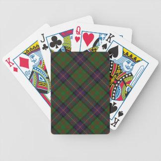 Scottish Clan Cochrane Tartan Deck Bicycle Poker Cards