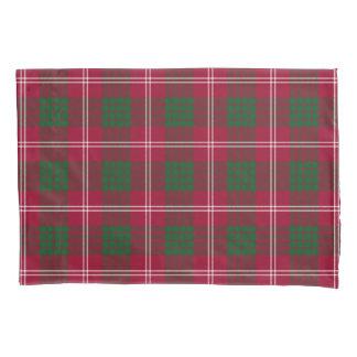 Scottish Clan Crawford Tartan Pillowcase