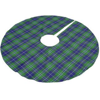 Scottish Clan Douglas Tartan Brushed Polyester Tree Skirt