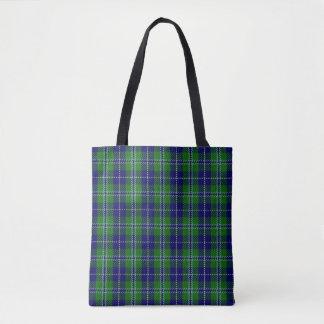 Scottish Clan Douglas Tartan Plaid Tote Bag