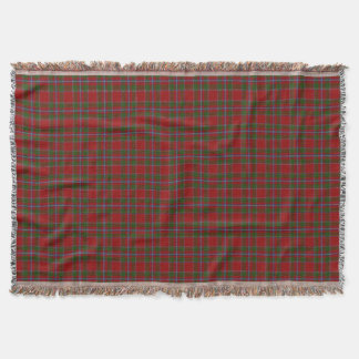 Scottish Clan Drummond Tartan Throw Blanket
